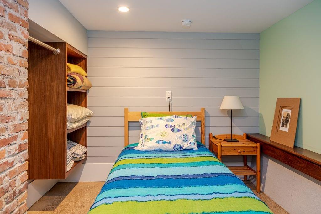 Custom Basement bedroom