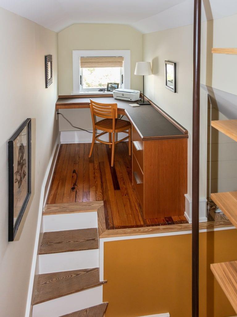 Custom Cubby & Staircase