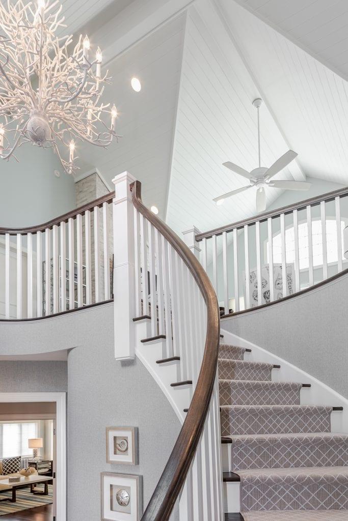 Grand Staircase, Custom Ceiling