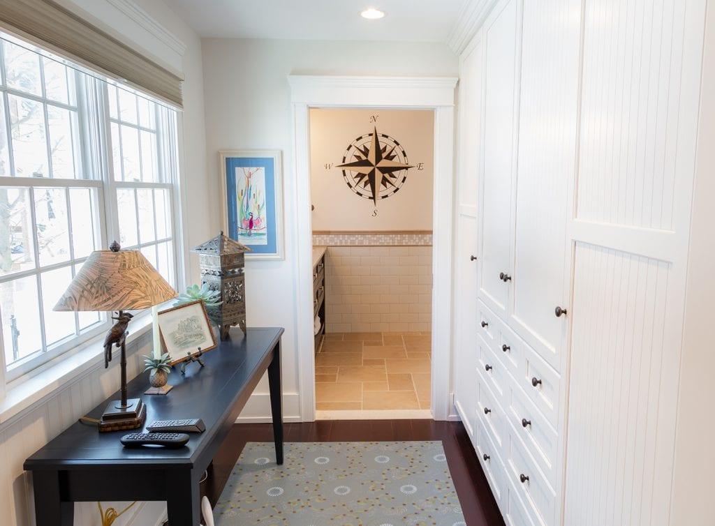 Hallway Custom Cabinets