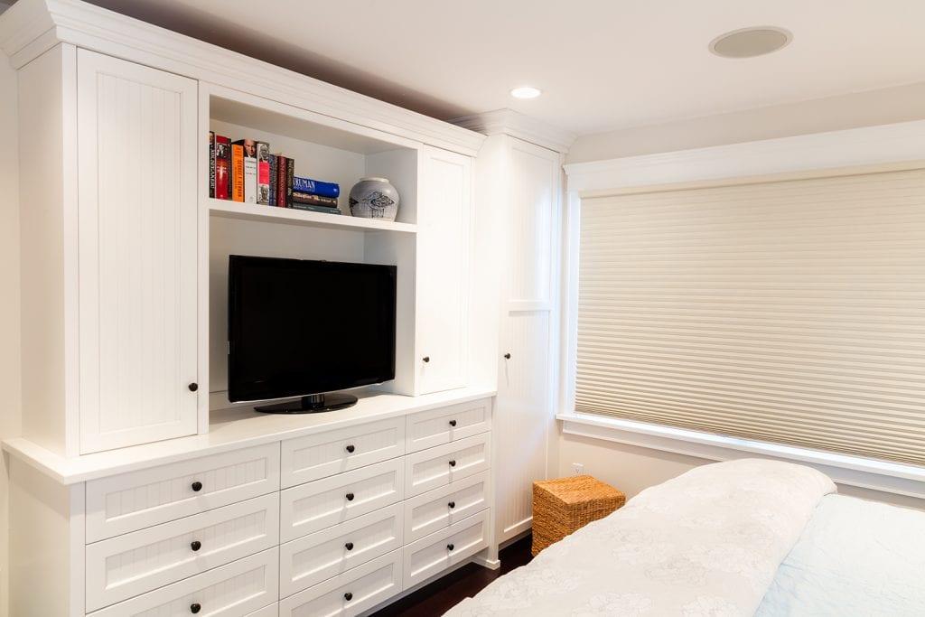 Built-in Bedroom TV