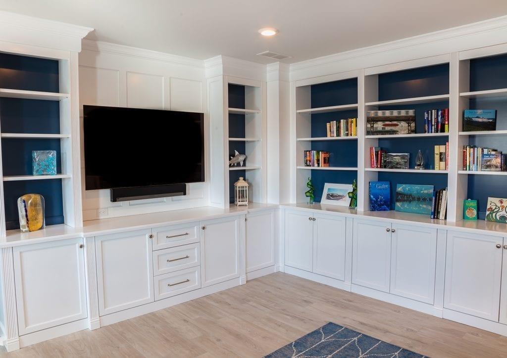 Custom Built-in Book Shelves