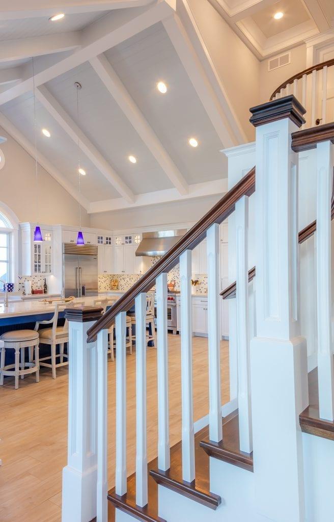 Custom Ceiling & Staircase Railing