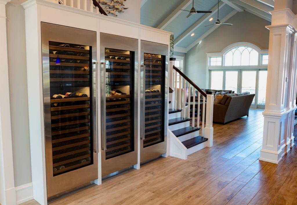 Custom Wine Cabinets