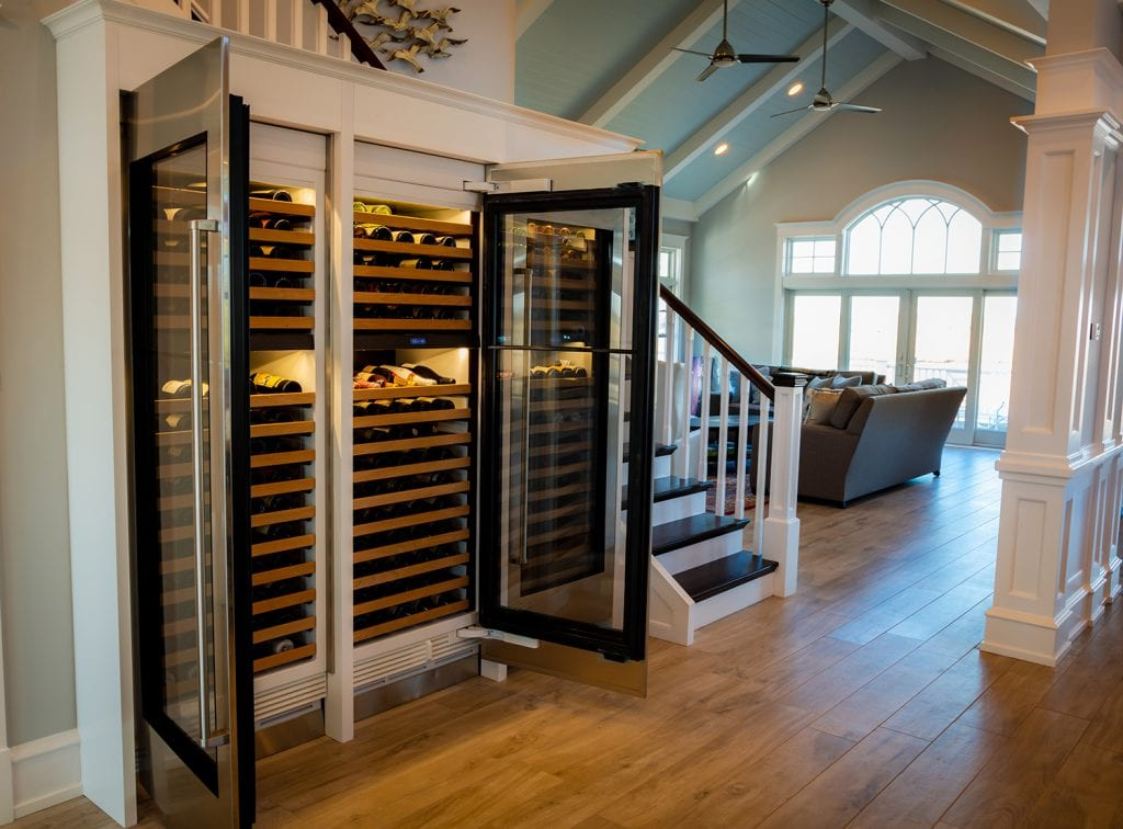 Lighted Wine Cabinets