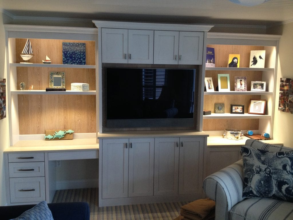 Lighted TV Cabinet