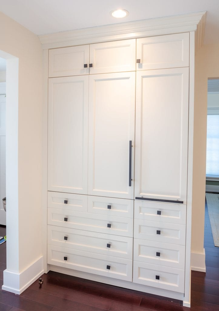 Built-in Refrigerator, cold drawers Kitchen