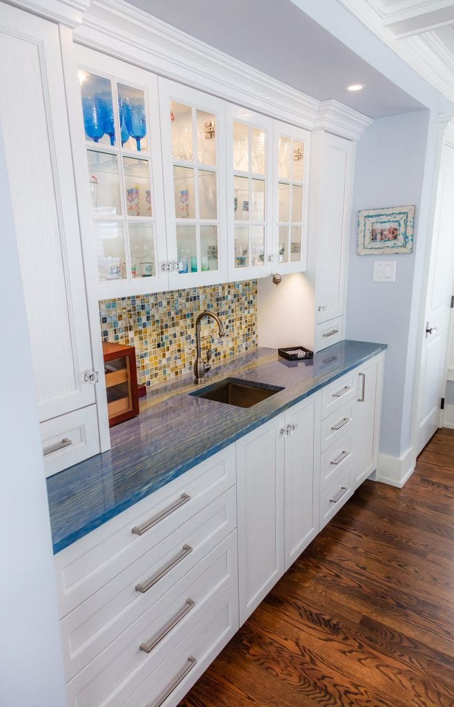 Kitchen Lighted Cabinetry