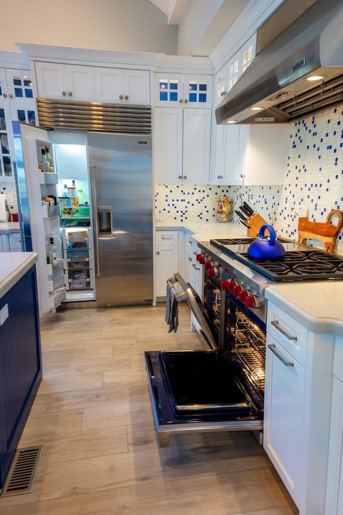 Kitchen Subzero/Custom Stove