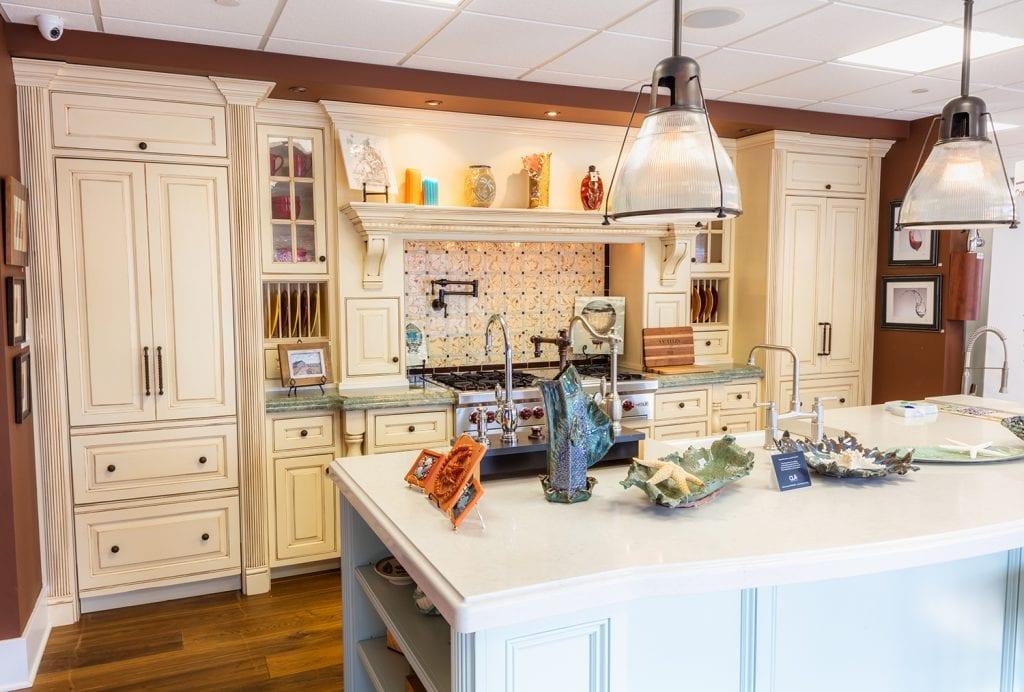 Kitchen Island Home Showroom