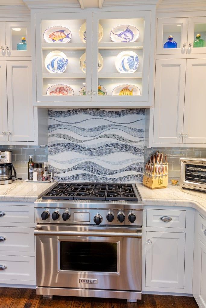 Kitchen Range Cabinets