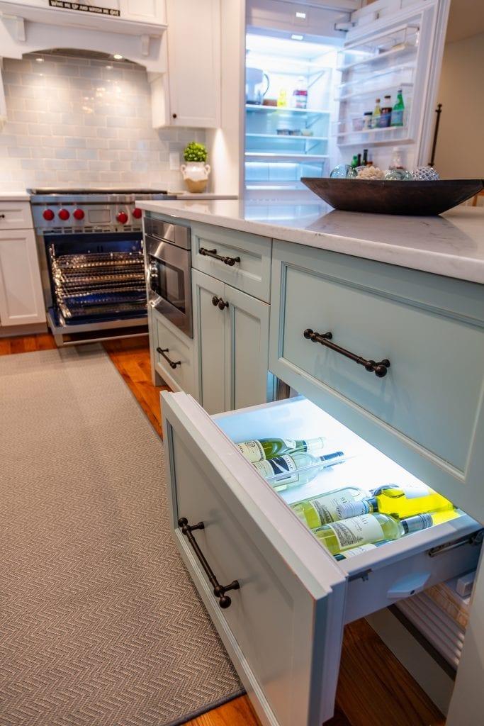 Range Refrigertor Cabinet