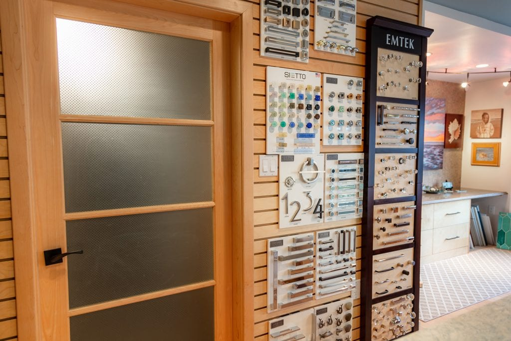 Knob Wall Display
